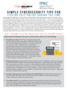 Simple Cybersecurity Tips